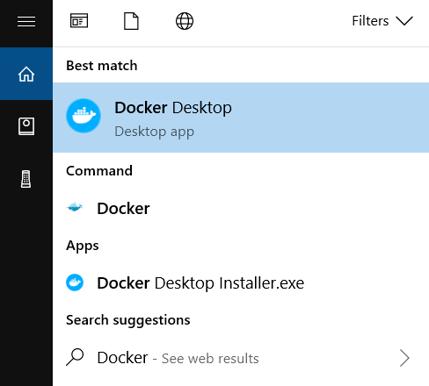 docker app search